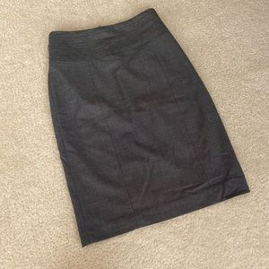 H&M Skirts - H&M High Waisted Gray Skirt Size 4